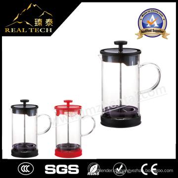Schöne Aussicht Glas Teekanne, um Wasser zu kochen