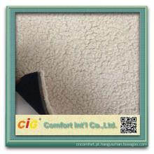 Moda de Alta Qualidade Novo Design Elegante Impresso Estofados Atacado de poliéster sherpa velo tecido de peles artificiais