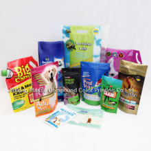 Stand up Pet Food Bag with Zipper