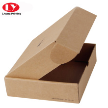 Pembungkusan Box Corrugated Brown Kraft