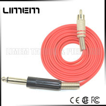 New Professional bule color good quality silicone tattoo RCA rotary clip cord strong and good