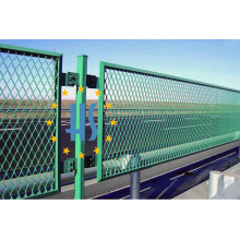 Railway Metal Expanded Mesh Fence
