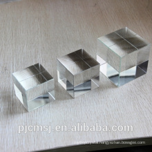 3D Laser Crystal glass Cube Modle 3D Laser Figure for decoration gift or souvenir