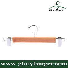 Non Processed Cedar Wood Trousers Hanger with Two Clip