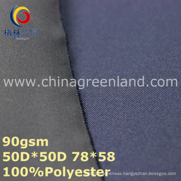 Woven Polyester Pongee Twill Fabric for Textile Garment (GLLML331)