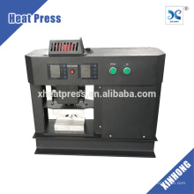 placa elétrica de aquecimento duplo máquina de pressão de calor prensa de resina