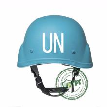 Bullistic Blue Protective Helm der Vereinten Nationen für friedenserhaltende UNO
