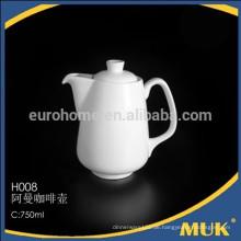 Verkaufen Hotel und Fluggesellschaft weiße Ellipse Design Produkt Keramik Zucker Topf
