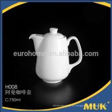 Продавать отель и апельсин белый продукт дизайна эллипса керамический сахарный горшок