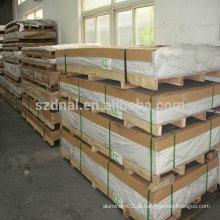 Folha decorativa de alumínio 3004 h24