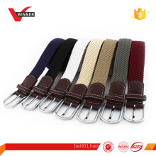 unisex colorful Stretch golf belts