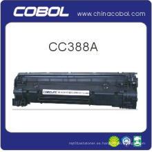 Cartucho de tóner negro Cc388A para impresora láser HP