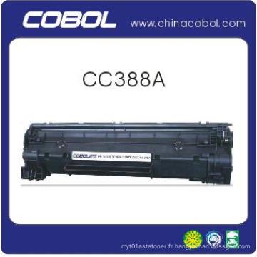 Cartouche de toner noir Cc388A pour imprimante laser HP