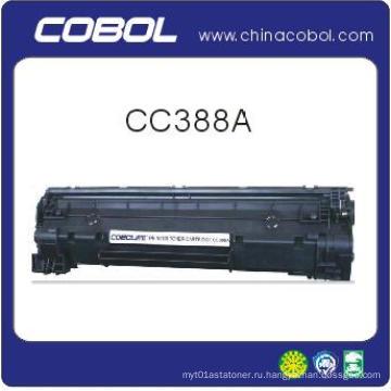 Черный тонер-картридж Cc388A для лазерного принтера HP