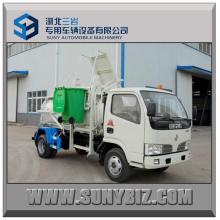 Dongfeng 4X2 Hanging Bucket Garbage Truck