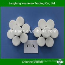 Désinfectant au dioxyde de chlore et agent de blanchiment (comprimés)
