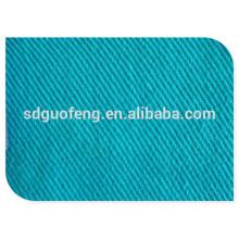 alta qualidade 100% algodão tecido 16 * 12 108 * 56 57/58 '' sarja tingida