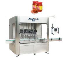 Automatic Jam Hot Sauce Honey/Chili Sauce Filling Machine, Bottle Filling Capping Labeling Machine