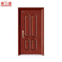 Entrada de datos proyectada puerta de acero acabada edificio de apartamentos puerta de entrada puertas de acero