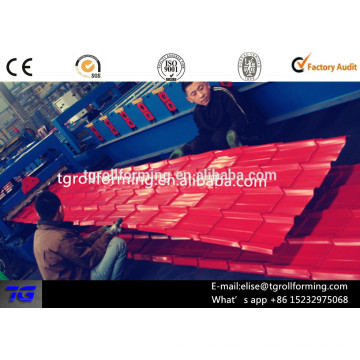 Russia hot sell 840 glazed tile forming machine best supplier in China
