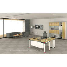 High Quality Metal Frame Office Executive Manager Table (HF-OFY003)