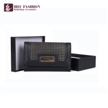 HEC Chine Fournisseurs Nouveau Design Femelle Portefeuille Femme Porte-monnaie
