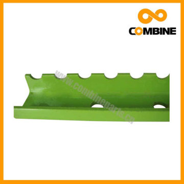 Channel Steel or Serrated Slat