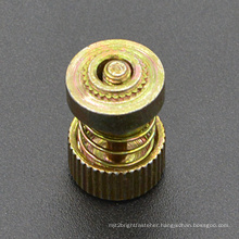 Yellow Zinc Plated Panel Fastener Screw (CZ440)