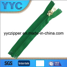 Dynamic Type Plastic Zipper 8 #, Open End Zipper