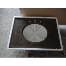 Tropical Brown Granite Vanity Top, Countertop, Kitchen Top