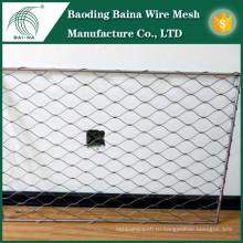 Металлические ограждения рыболовные сети металлическая ткань