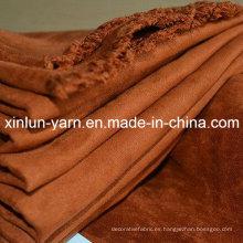 Tela de gamuza de tapicería del fabricante de China para el sofá