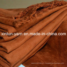 Tissu de suède d'ameublement de fabricant de la Chine pour le sofa