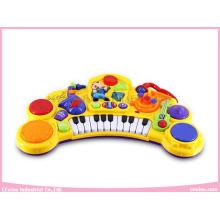 Clavier musical électronique de jouets avec le microphone