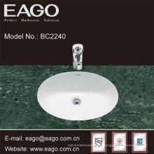 EAGO céramique sous lavabo de qualité lavabo dans la salle de bain BC2240