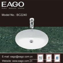 EAGO ceramic under counter wash basin-quality sink in bathroom BC2240