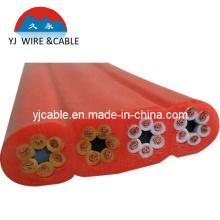 Кабель троса подъемника кабель с силовым кабелем h07vvh6-f чистый медный кабель управления кабель управления 21 * 1.25mm
