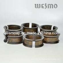 Accesorio de mesa Anillos de tejido de bambú