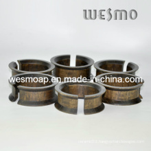 Tabletop Accessory Bamboo Tissue Rings