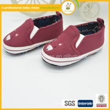 comfortable and soft sole wholesales blue baby canvas shoes