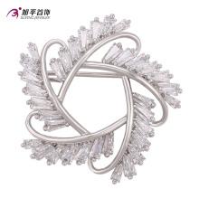 Xuping Fashion élégants cristaux de rhodium de la broche de bijoux Swarovski -00009