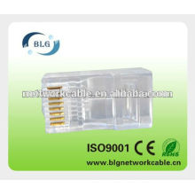 Wholesale network 8P8C modular plug with high quality