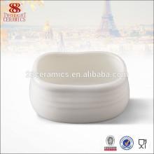 Utensílios de mesa de alta qualidade por atacado, pote de açúcar de cerâmica para café