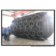 Diameter 3300mm x Length 6500mm Pneumatic Fender