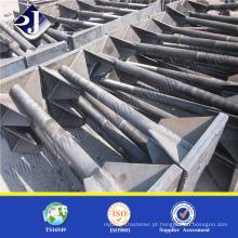 Parafuso de fundação do produto principal Parafuso de fixação de forjamento a quente Parafuso de fundação acabado de zinco