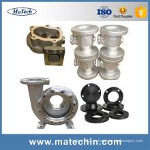 Piezas de cuerpo de válvula de compuerta de globo de acero fundido ASTM A216 Wcb