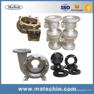 Pièces de corps de valve de porte de globe d'acier de fonte d'ASTM A216 Wcb