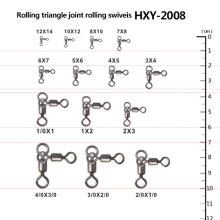 Fishing Triangle Joint Rolling Swivels