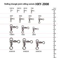 Articulações de rolamento de triângulo de pesca