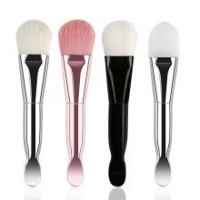Hot Selling Makeup Skincare Mask Brush Double-head Foundation Clay Mask Applicator Brush Facial Mask Brush